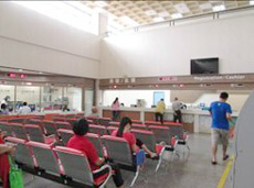 Registration Hall of Chiayi Branch of Taichung Rongmin General Hospital